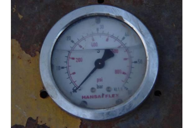 Medidores de presión de neumáticos en mal estado