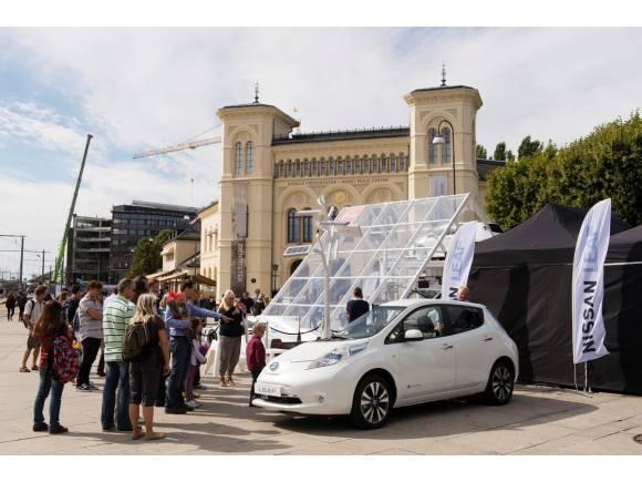 El Nissan Leaf participará en un intento de récord del mundo