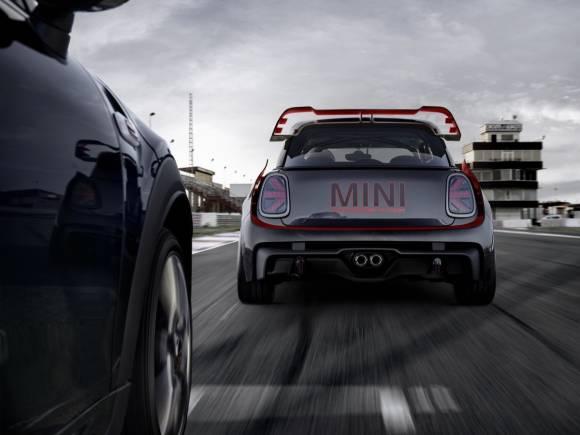 Mini John Cooper Works GP Concept: inspirado en la competición
