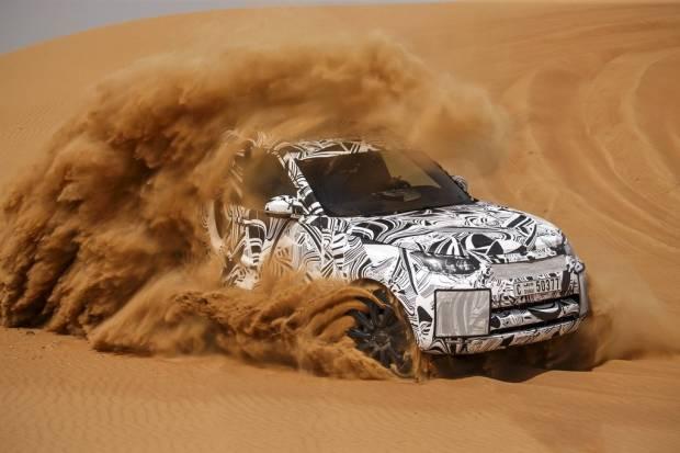 El nuevo Land Rover Discovery ha tenido casi 300 prototipos de desarrollo