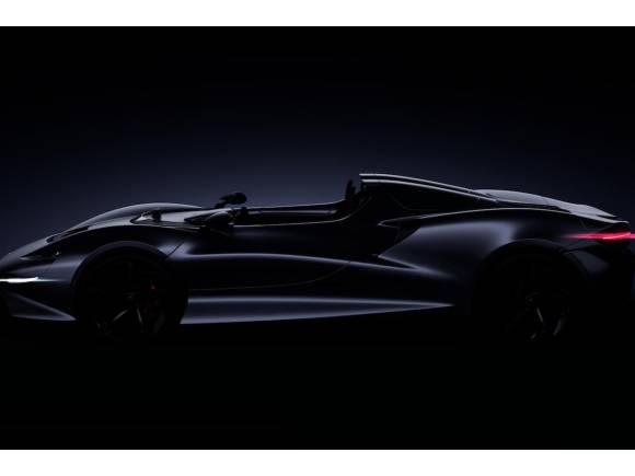 Nuevo superdeportivo de McLaren sin techo ni parabrisas