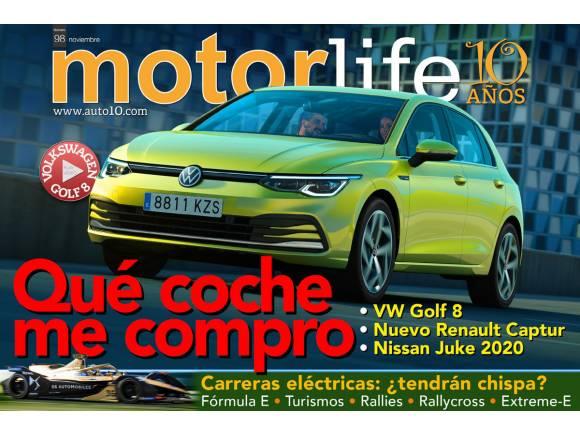 Motorlife Magazine Nº 98: ya disponible con todo sobre el nuevo Volkswagen Golf