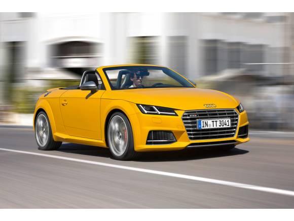 Llega el Audi TTS Roadster con un precio de 62.580 euros