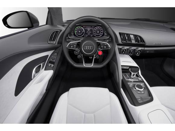 Audi R8 e-tron piloted driving, eléctrico y autónomo