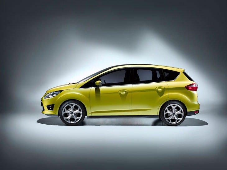 Evolución estética del Ford C-Max