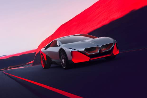 BMW Vision M NEXT, el prototipo deportivo y eléctrico