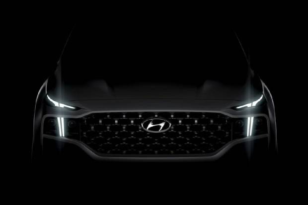 Hyundai Santa Fe: observamos la primera imagen del SUV insignia coreano