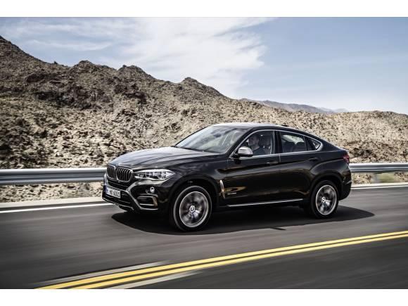 BMW X6 2015: el SUV deportivo de BMW, ahora más eficiente