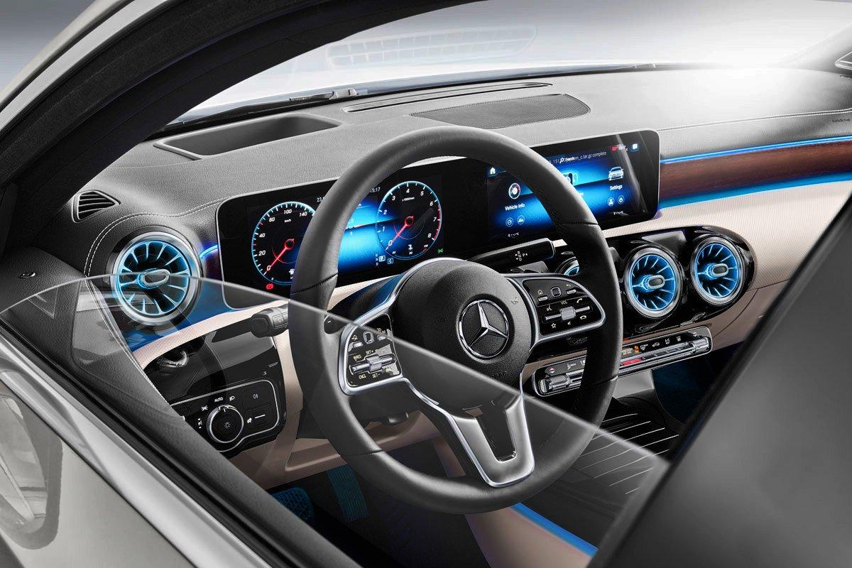 Mercedes Clase A Sedan interior