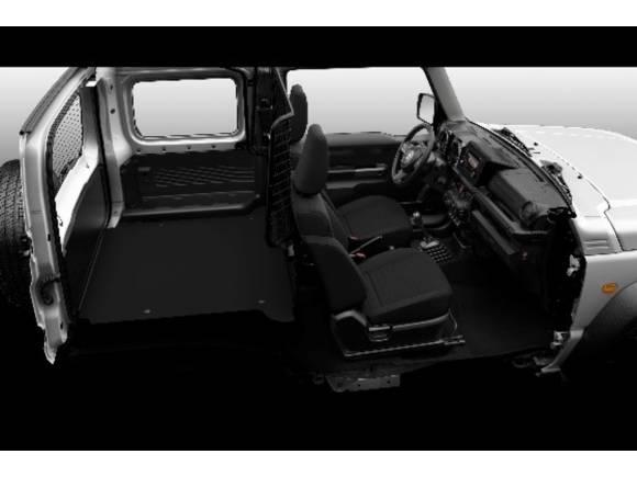 El Suzuki Jimny regresa como un biplaza comercial