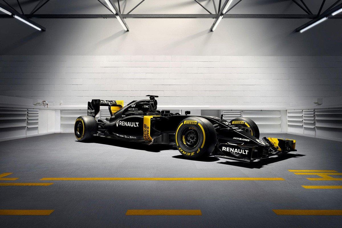 Renault Sport Presenta Su F 243 Rmula 1 2016 Y Su Nueva Estructura