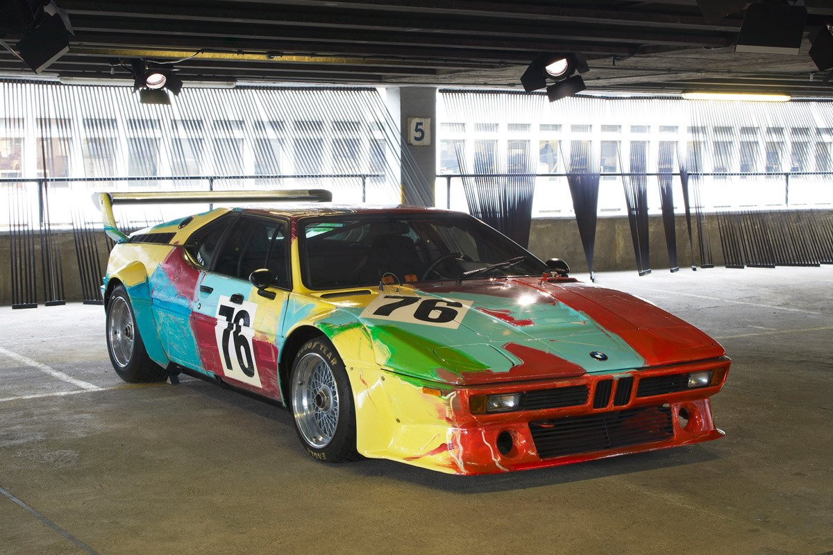 BMW M1 group 4 racing version