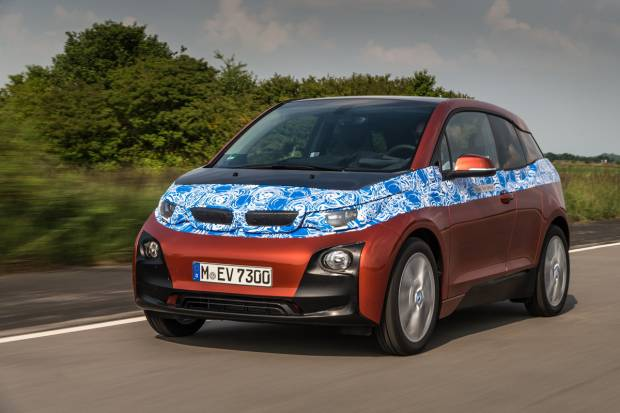 El BMW i3 cada vez más cerca
