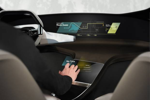 BMW HoloActive Touch, el interior del coche del futuro