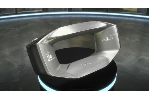 Jaguar presenta el volante del futuro
