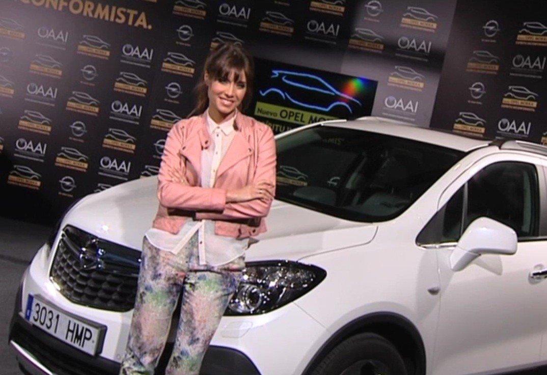 Pilar Rubio Opel Mokka