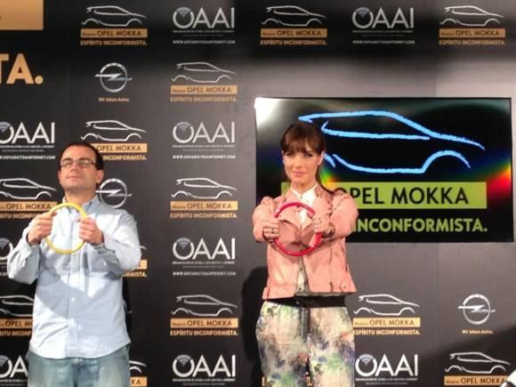 Pilar Rubio y Opel Mokka padrinos contra la adicción a Internet