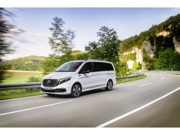 Nuevo Mercedes EQV, el Clase V eléctrico