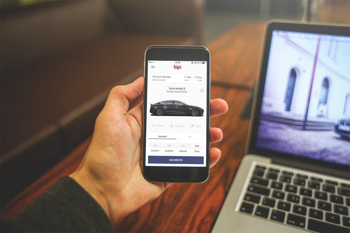 app alquiler de coches