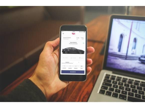Alquila un coche a través de una aplicación con Bipi