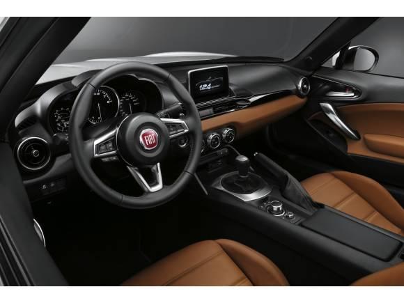Fiat 124 Spider, primeras fotografías y datos oficiales