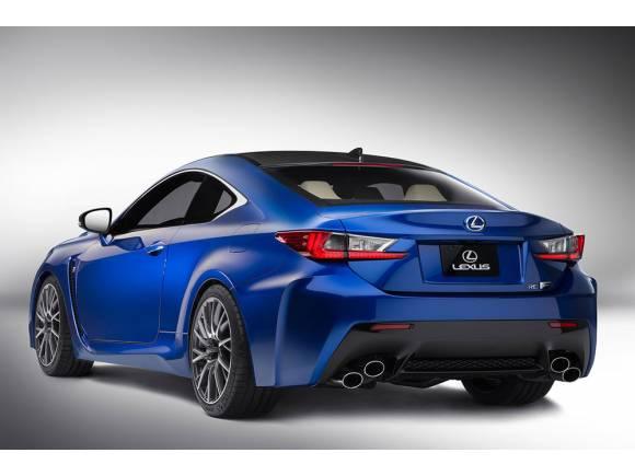 Lexus RC F, a un precio desde 86.700 €