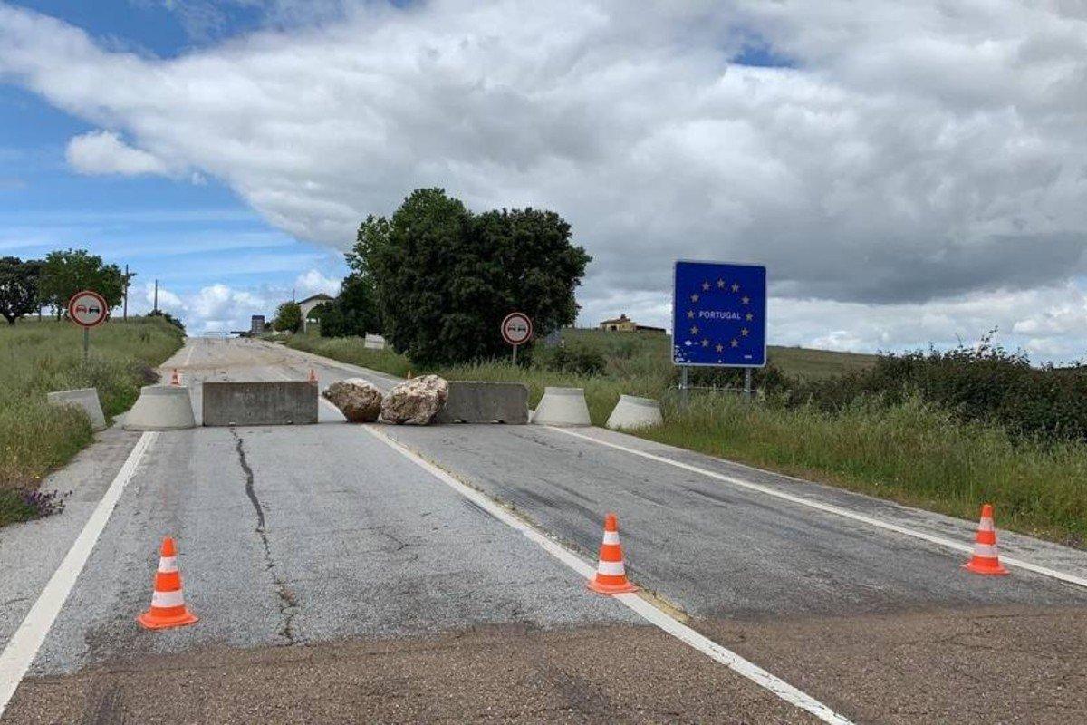 Portugal frontera España