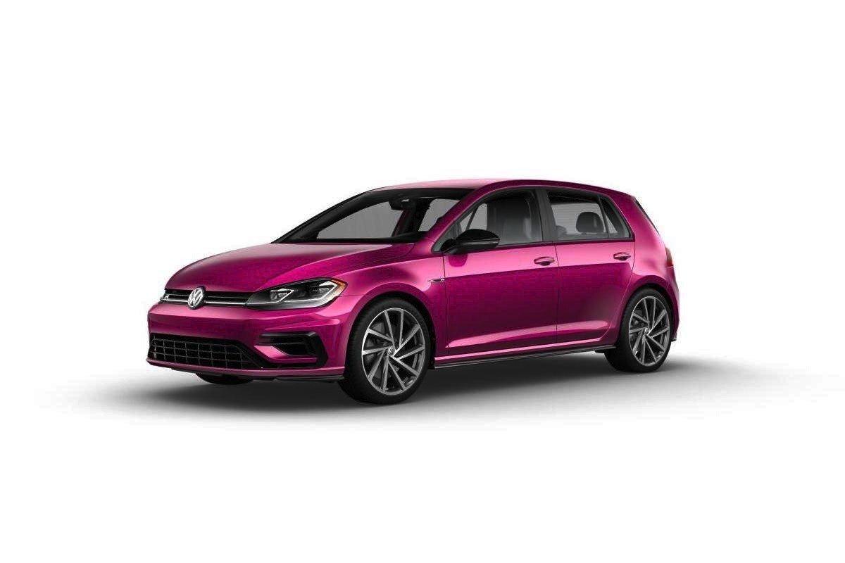 Volkswagen Golf R rosa
