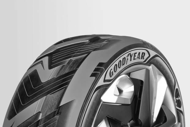 Goodyear presenta un neumático que genera electricidad