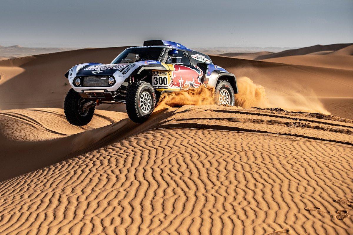 Carlos Sainz Nani Roma Mini Dakar 2019