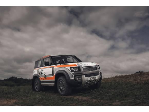 Bowler crea una copa monomarca con el Land Rover Defender 90