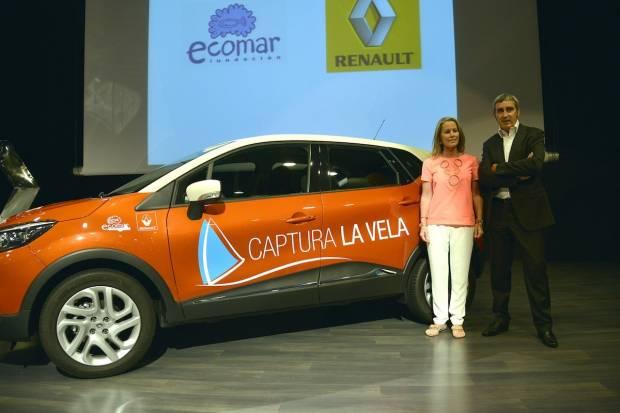 Vuelta a España con Renault Captur y Fundación Ecomar