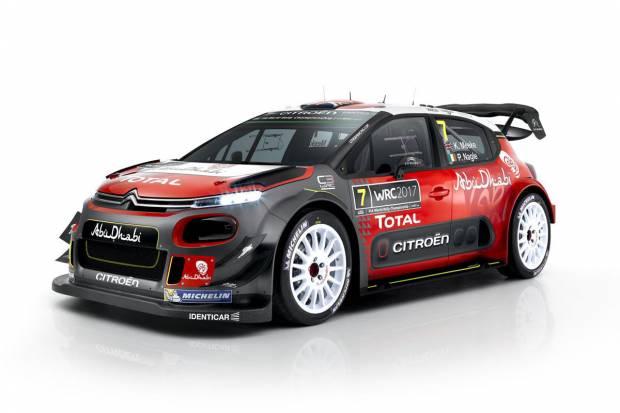 Presentado el Citroën C3 WRC, la vuelta al Mundial de Rallyes