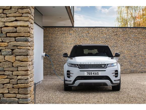 Llegan los híbridos enchufables para Range Rover Evoque y Land Rover Discovery Sport