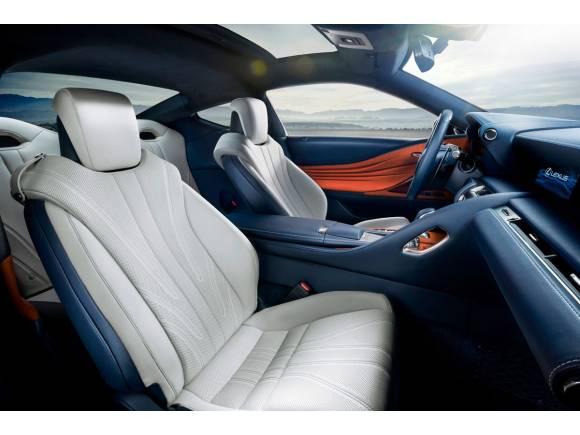 El Lexus LC ya tiene su versión híbrida, el 500h