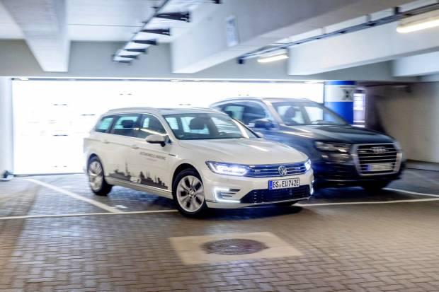 Aparcamiento autónomo en 2020 para Volkswagen, Audi y Porche