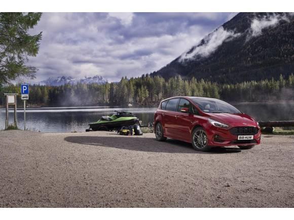 Los Ford S-MAX y Ford Galaxy ahora con motor híbrido