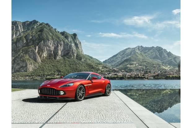 Aston Martin Vanquish Zagato Coupé: edición limitada de un sueño