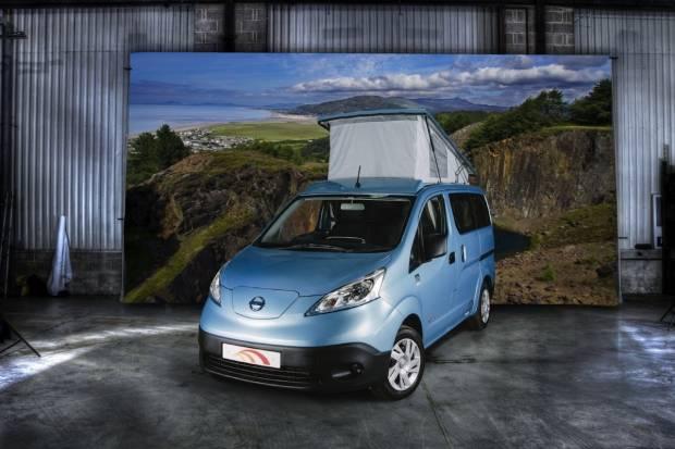 El Nissan e-NV200 se convierte en la primera autocaravana eléctrica