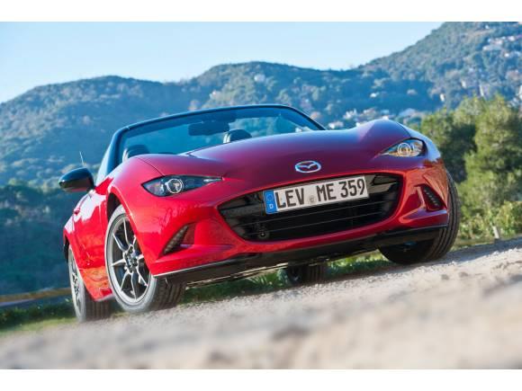 Video: El nuevo Mazda MX-5 cada vez más cerca