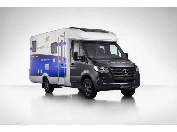 Autocaravana Mercedes Sprinter, eléctrica de pila de combustible