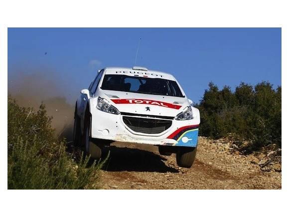 Peugeot 208 R5: listo para la competición