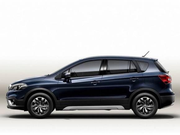 El nuevo Suzuki SX4 S-Cross se presentará en el Salón de París