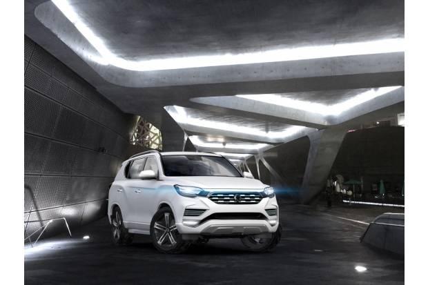 LIV-2 concept: así podría ser el futuro SUV grande de SsangYong