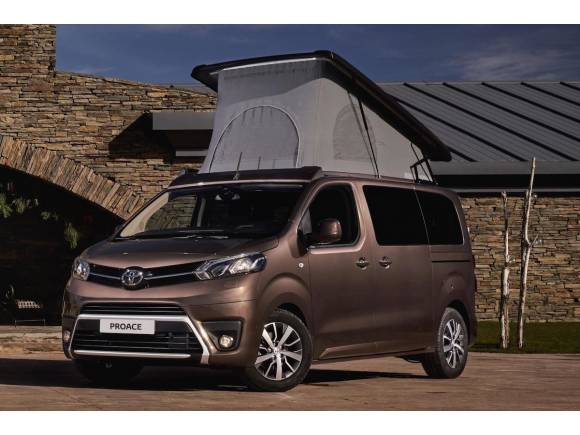 Nuevo Toyota Proace Verso Camper desde 37.000 euros