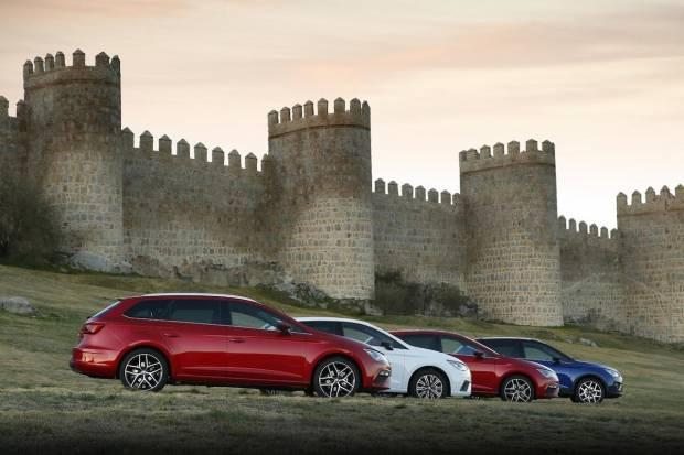 Prueba gama SEAT TGI de gas natural (Ibiza, Arona y León)