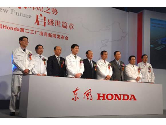 Honda ya tiene en funcionamiento sus fábricas de Wuhan