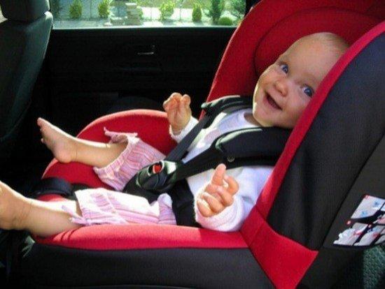 Seguridad Infantil. Sillita para bebé homologada