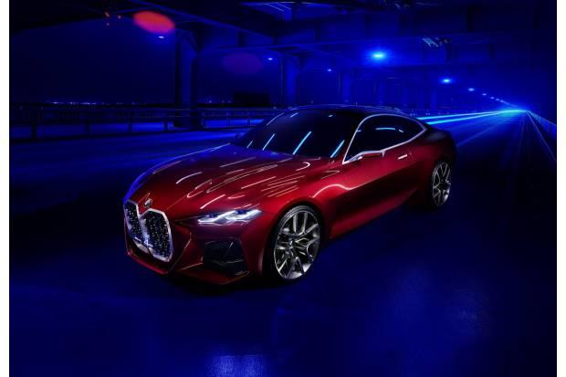 BMW Concept 4, el nuevo concepto coupé que podremos ver en Frankfurt