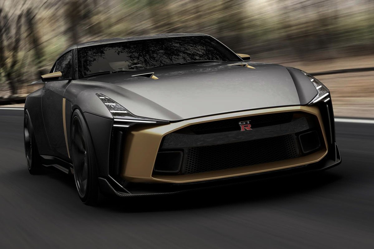 Nissan GT-R50 by Italdesing